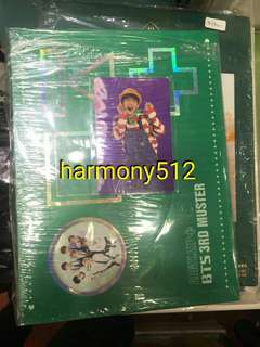 BTS 3rd fanmeeting DVD+小卡+postcard