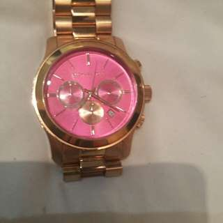 Oversized Michael Kors watch in mint condition