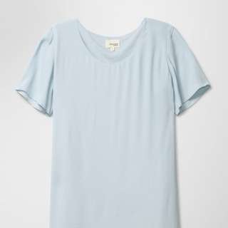 Aritzia WILFRED FREE Teigen baby blue dress - M