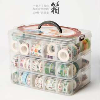 (L) Washi Tape Container