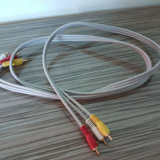 Audio and video cable