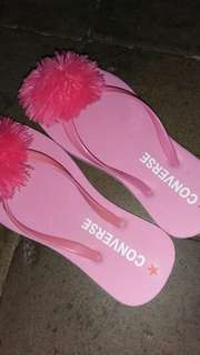 Sandal converse pom-pom