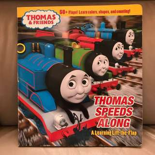 Thomas (lift-the-flag) story book