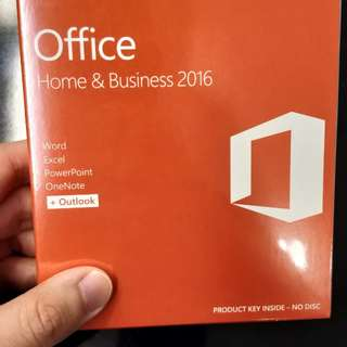 Microsoft Office Home and Business 2016 (New)