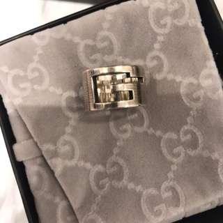 Gucci ring 925 sliver 銀介子 Size 10