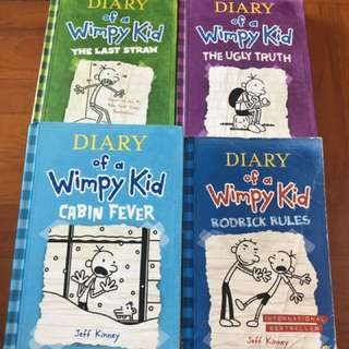 Diary of a Wimpy Kid (set of 4)