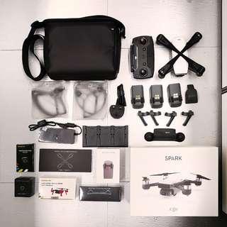 DJI Spark Combo Set – White 3電池(附周邊配件)