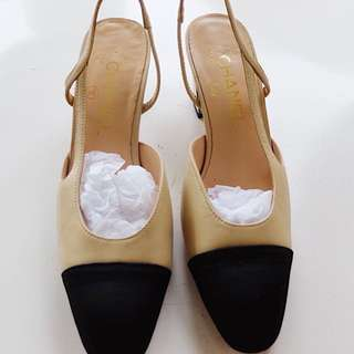 Authentic Chanel Sling back