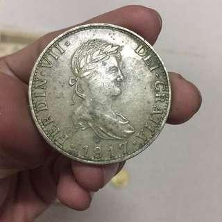 Old Coins duit lama 1817