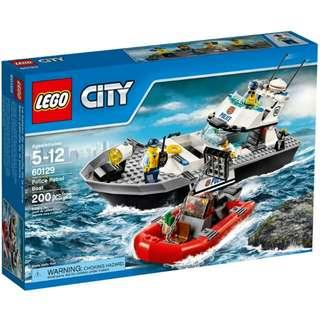 全新Lego 60129 Police patrol boat