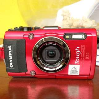BEAUTY IN RED... SHOCK n WATER  PROOF...