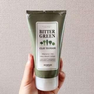 Bitter Green Clay To Foam