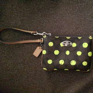 Authentic Coach Wristlet [Price Reduced!!!]