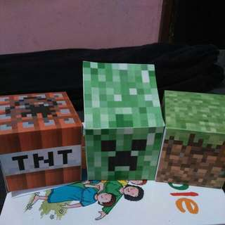Minecraft Themed Party Favor