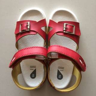 BOBUX Baby Shoe / Children Shoe - Red Pop Sandals (EU23,24)