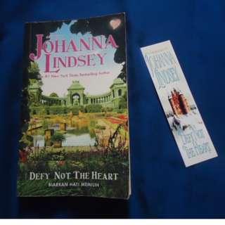 Novel Kolpri/Second : Johanna Lindsey - Defy Not The Heart 'Biarkan Hati Memilih'