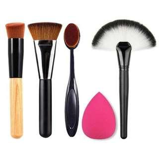Paket Hemat Complexion Makeup Brush