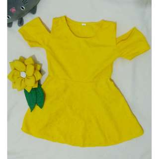 yellow bakuna dress