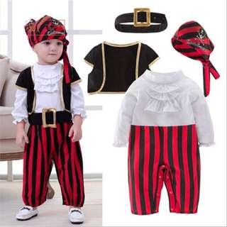 Cosplay Children's Pirate Costume