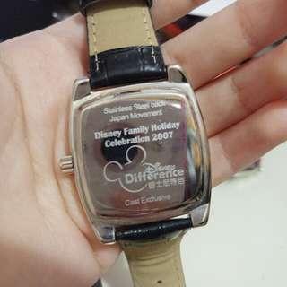 迪士尼記念手錶 disney watch