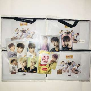 BTS BBQ PC and Mat