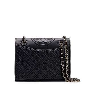 tory burch fleming black authentic