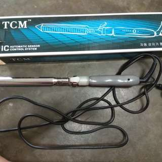 Used TCM hair Curling Iron