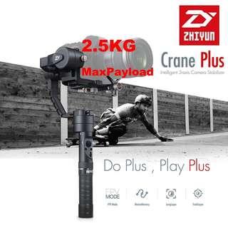 🛒ZHIYUN CRANE PLUS Gimbal Stabilizer for DSLR & Mirrorless Camera