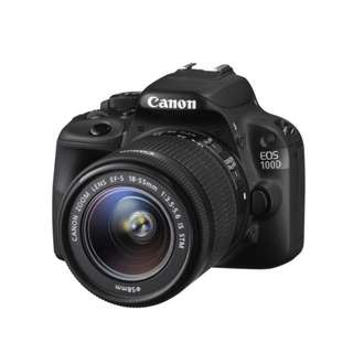 Canon EOS 100D with 18-55mm Lens