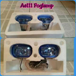Universal foglamp w/ backet