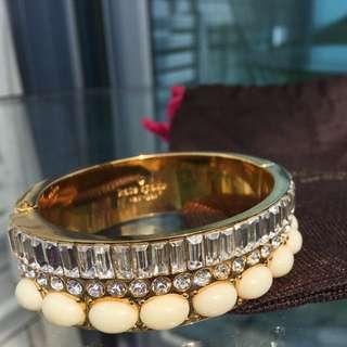 Kate Spade faux diamond bangle
