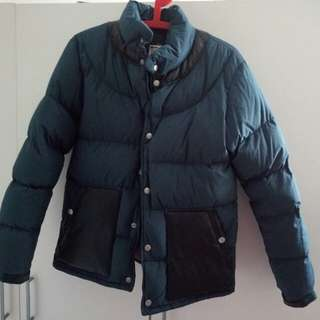 undercover down jacket  size s