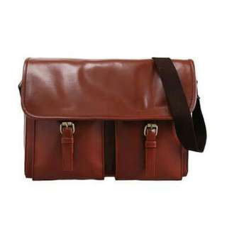 Mayonette Jordan Brown Messenger Bag