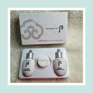 History of Whoo Radiant White Kit