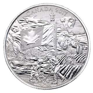 2017 PURE SILVER COIN SPIRIT OF CANADA