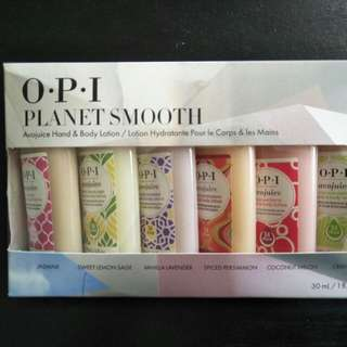 OPI planet smooth 5x30ml *new*