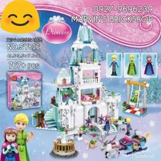 For Sale FROZEN Big Castle Building Blocks Toy