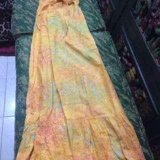 Dress kemben batik kuning