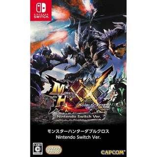 [優惠] Switch Mhxx Monster Hunter Double Cross