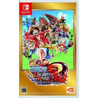 [優惠] Switch One Piece Unlimited World R 海賊 無限r