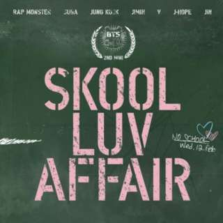 BTS SKOOL LUV AFFAIR ALBUM