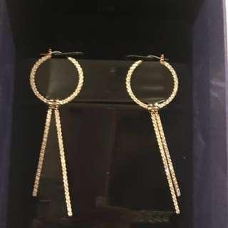 Swarovski jewellery ladies Rose Gold earring