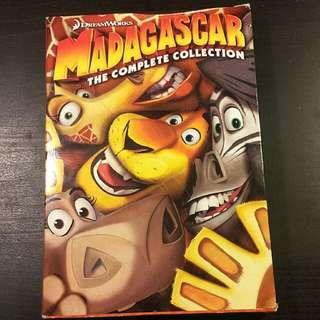 Madagascar 3 Disc DVD set