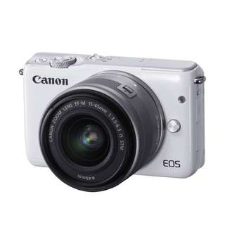 Canon EOS M10 with 15-45mm f/3.5- 6.3 Lens