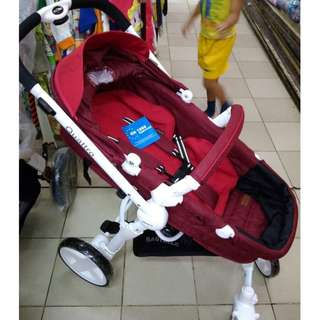 Stroller Babyelle Quattro Kereta Dorong Anak Bayi Murah Nyaman