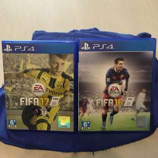 PS4 Fifa 16 17 Game