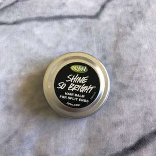 Shine so bright hair balm