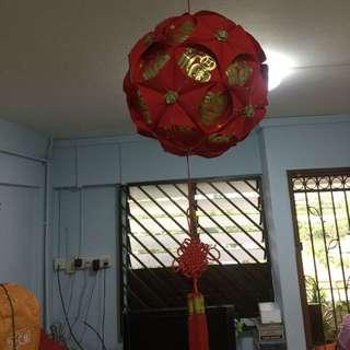 Chinese new year ball lantern
