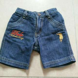 Baby Boy Short Jeans