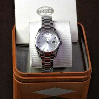Fossil Silver Classic Watch